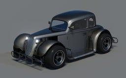 Retro bil 3d Fotografering för Bildbyråer