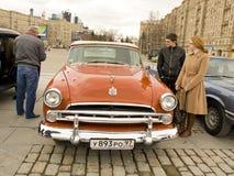Retro bil Dodge Arkivbilder
