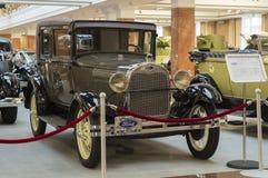 Retro bil Ford A Royaltyfri Foto