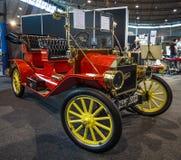 Retro bil Ford Model T Tourabout, 1914 Royaltyfri Bild