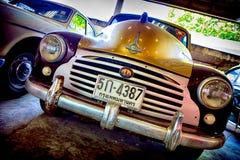 Retro bil, Morris Royaltyfri Fotografi