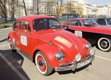 Retro bil volkswagen Royaltyfri Fotografi