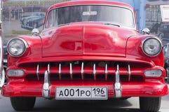 Retro bilChevrolet Chevy 1954 frigörare Royaltyfri Foto
