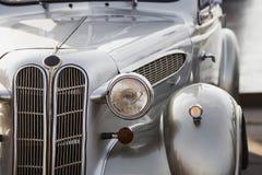 Retro bilframdel Royaltyfri Foto