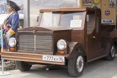 Retro bilOldsmobile F85 1929 frigörare Royaltyfria Bilder