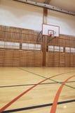 Retro binnengymnasium Stock Afbeelding
