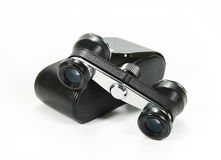 Retro binocular Royalty Free Stock Photo