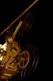 Retro bioskoopprojector, gefiltreerd sepia Stock Fotografie