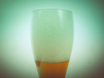 Retro birra di Weizen di sguardo Fotografie Stock