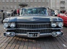 Retro bkackauto royalty-vrije stock afbeelding