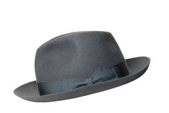 Retro black hat isolated Stock Photos
