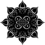 Retro black ornament Royalty Free Stock Photo