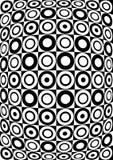 Retro black and white pattern. Royalty Free Stock Photos