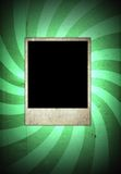 Retro blank photo frame Royalty Free Stock Photos
