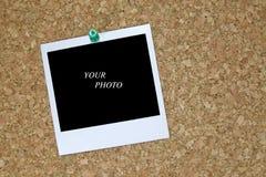 retro blankt foto Arkivfoto