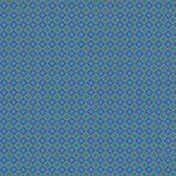 Retro Blauw Plaid Abstract Kleurrijk Modieus Net Mesh Pattern Background stock illustratie