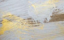 Retro blauwe en gele houten achtergrond Royalty-vrije Stock Afbeeldingen