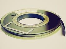 Retro- Blick Bandspule Stockbild