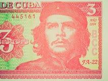 Retro- Blick Kuba-Pesos stockfotografie