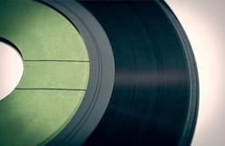 Retro- Blick Vinylaufzeichnung Lizenzfreie Stockfotografie