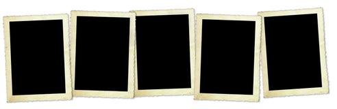 Retro blocchi per grafici della foto Fotografia Stock Libera da Diritti