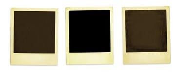 Retro blocchi per grafici della foto Fotografie Stock Libere da Diritti