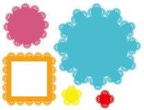 Retro blocchi per grafici di disegno Immagine Stock