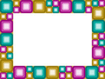 Retro blocco per grafici Fotografie Stock