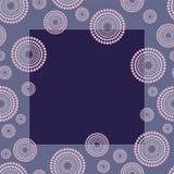 Retro blocco per grafici blu Illustrazione di Stock