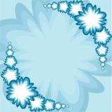 Retro bloemachtergrond royalty-vrije illustratie