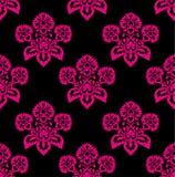 Retro bloemen naadloos patroon,   royalty-vrije illustratie