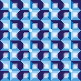 Retro blue abstract background pattern Royalty Free Stock Images