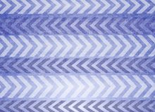 Retro Blue Christmas Stripes royalty free illustration