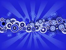 Free Retro Blue Circles Royalty Free Stock Photos - 2887868