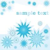 Retro blue flyer Stock Photos