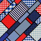 Retro blue pattern. Royalty Free Stock Photos