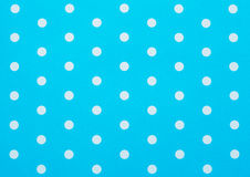 retro blue polka Royalty Free Stock Photography