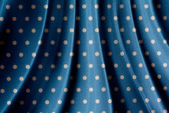Retro blue polka dot pattern Stock Photography