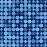 Retro blue pop art background Royalty Free Stock Images