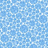 Seamless ball pattern Stock Images