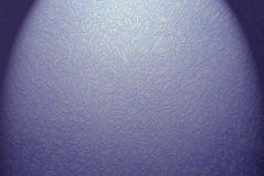 Retro blue wallpaper Stock Photography