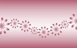 Retro- Blumen vektor abbildung