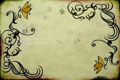 Retro- Blumen Lizenzfreie Stockfotos