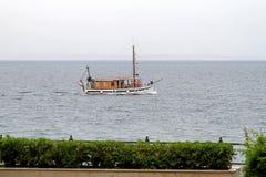 Retro boat Stock Image