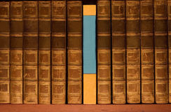 Retro boeken Royalty-vrije Stock Foto