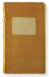 Retro boka Arkivbild