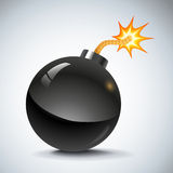 Retro bomb Royalty Free Stock Photo