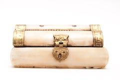Retro bone box Royalty Free Stock Photos