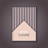 Retro book cover design Stock Image