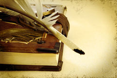 Retro book Royalty Free Stock Images
